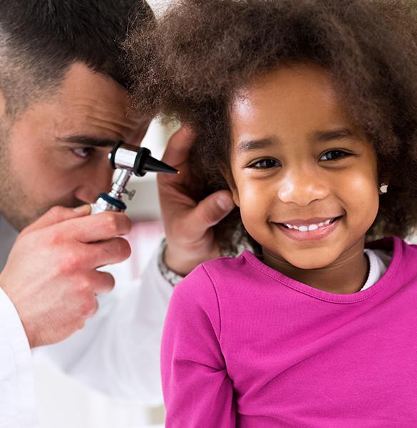 Kinder haben besonders empfindliche Ohren