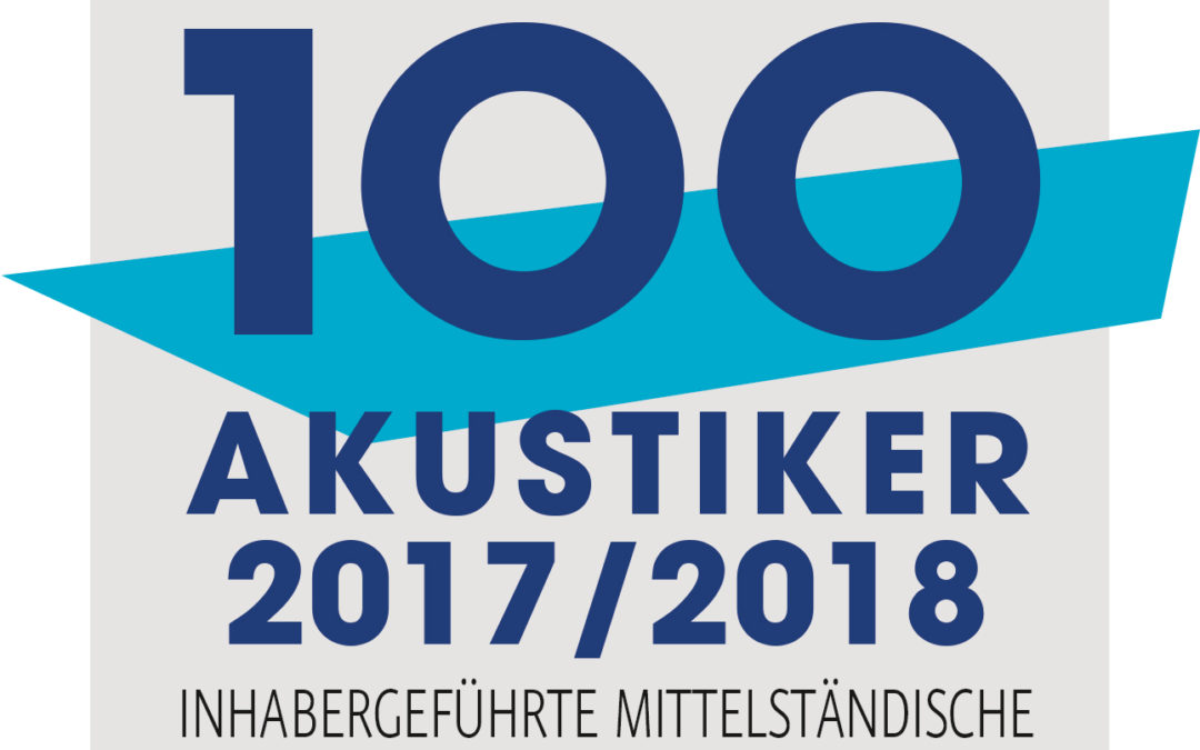 Top 100 Akustiker 2017/2018